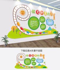 幼儿园文化墙校园文化墙辅导班形象墙