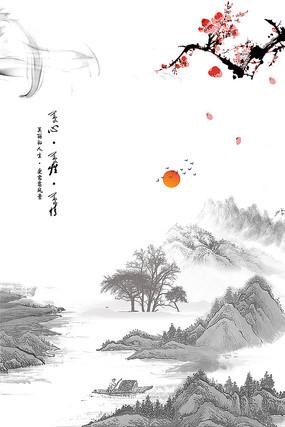 中国风水墨装饰画
