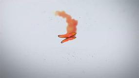 2色唯美飞舞蝴蝶logo开场特效AE模板