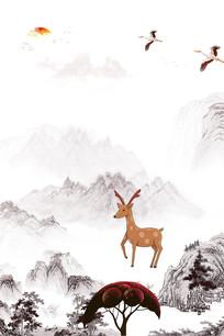 中国风意境水墨装饰画