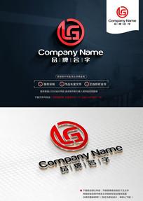 LGLOGO设计LG标志设计