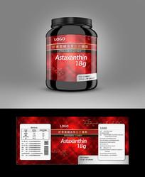 虾青素保健品包装设计