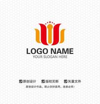 S字母酒店房地产LOGO设计