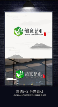 茶叶标志茶叶LOGO设计