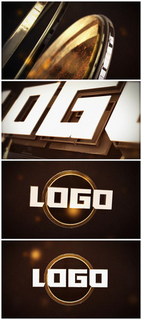 e3d大气震撼企业logo演绎片头视频模板