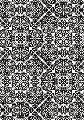 古典花纹底纹图案