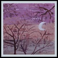 月色装饰画
