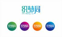 城市文创科创节标志织梦局字体设计cdr