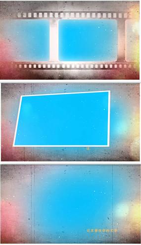 会声会影X8复古个人写真毕业相册视频模板 vsp