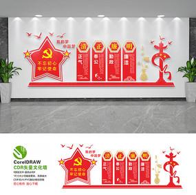 党风廉政文化墙展板设计