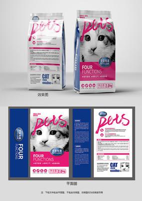 时尚宠物粮包装