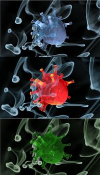 新型冠状病毒视频素材