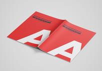 A4A3A5宣传画册样机宣传册效果图