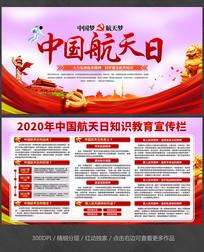 中国航天日宣传栏