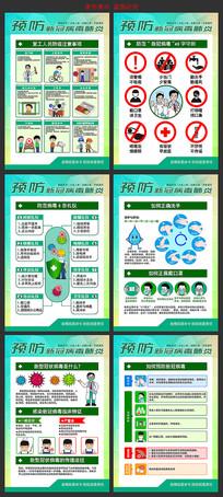 绿色预防新冠病毒知识挂图