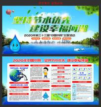 2020年中国水周展板