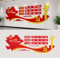社会主义核心价值观立体党建文化墙