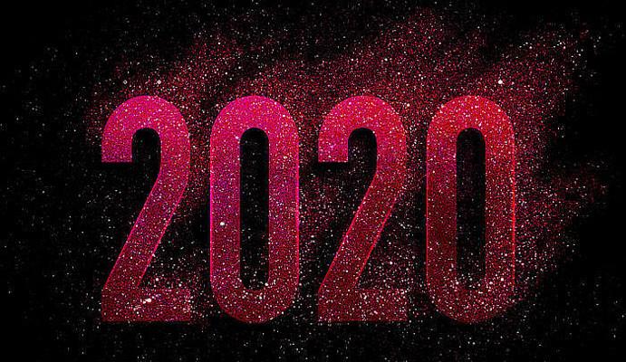 2020艺术数字字体
