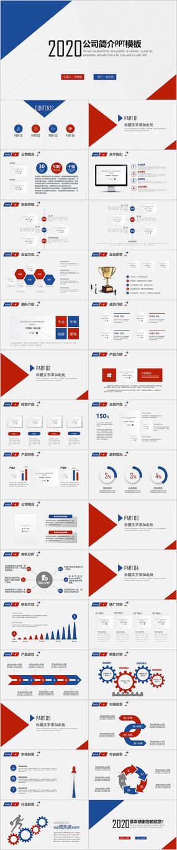 公司简介企业介绍公司介绍PPT模板