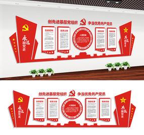 党员之家党建文化宣传展板