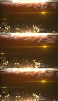 金色粒子演唱会背景视频素材
