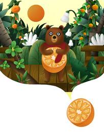 原创水果包装之橙子包装
