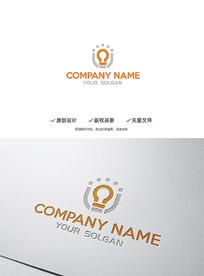 创意灯饰造型企业标志