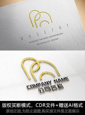 大象logo标志公司商标设计