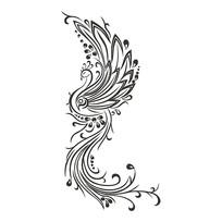 孔雀装饰图形