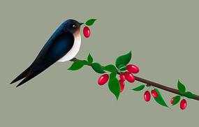 原创枝头上的鸟