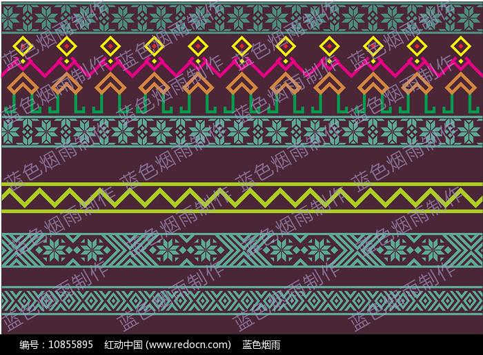 侗族花纹图片