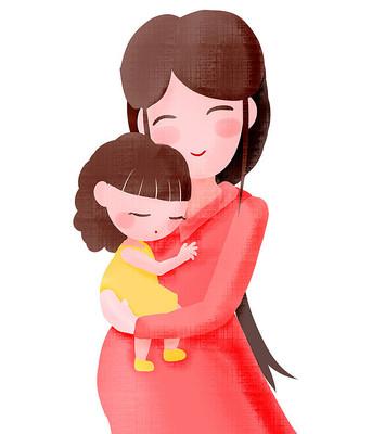 母亲节插画