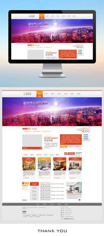 装饰公司企业网站设计