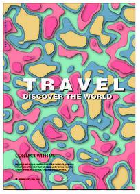 时尚旅行海报设计