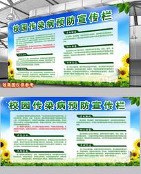 校园传染病疾病预防宣传知识宣传栏
