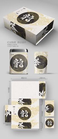 意境线条创意茶叶包装设计