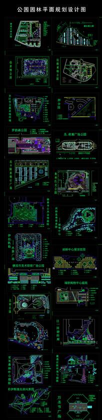 广场园林平面规划设计图