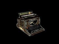 欧式古典打字机