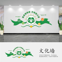学校宿舍文化墙设计
