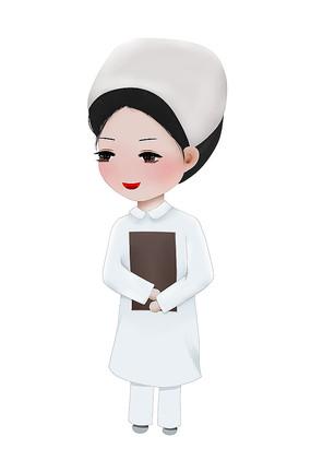 原创白衣天使医护人员护士