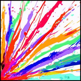 抽象画色彩挂画