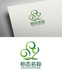 创意树木企业标志