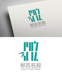 创意syz竹子logo设计