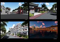 琼北民居及南洋风格建筑改造