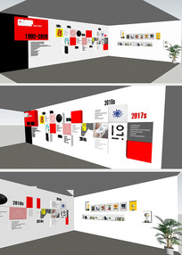 室内企业文化墙