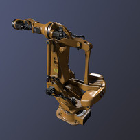 现代工厂机械臂