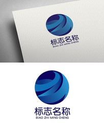 字母Z大气国际科技logo设计