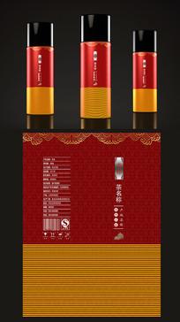 高端红色茶叶包装设计