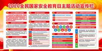 国家安全教育日展板设计
