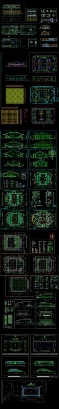 体育场建筑设计图纸